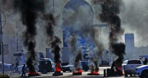 العراق: قتيل بسلسلة انفجارات.. اضطرابات أمنية وإصابة عشرات المحتجين