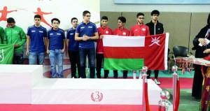 منتخب أشبال المبارزة يخطف الميدالية البرونزية في البطولة العربية بالبحرين