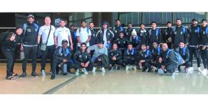 فريق صور يصل إلى فلسطين لملاقات فريق هلال القدس