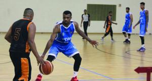 في منافسات دوري عام السلة .. السيب يفوز على أهلي سداب ونزوى على قريات