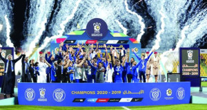 النصر الإماراتي يتوج بكأس الرابطة