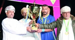 فريق اليرموك يتوج بلقب كأس نادي الخابورة لكرة القدم
