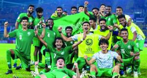 في كأس آسيا تحت 23 عاما: السعودية لضمان تذكرة الأولمبياد من بوابة حامل اللقب أوزبكستان