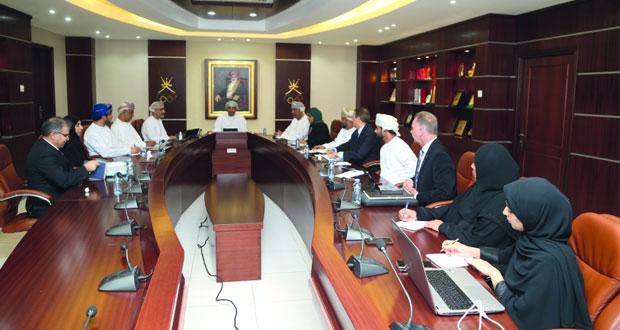 لجنة المبارزة تستعرض استراتيجيتها المستقبلية أمام اللجنة الأولمبية العُمانية