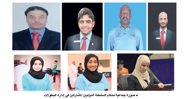حكام السلطنة لكرة الطاولة يتأهبون لإدارة المنافسات الدولية في الأردن وقطر