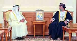 رئيس مجلس الشورى ووزير الداخلية يستقبلان الأمين العام لمجلس التعاون