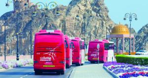 """""""مواصلات"""": تحديثات جديدة في مسارات وأوقات الرحلات بين المدن بدءاً من 6 مارس القادم"""