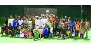 الاتحاد العماني للتنس ينظم بطولة جاتوريد الأولى للناشئين