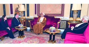 حصاد الاسبوع: جلالة السلطان المعظم يستقبل وزير الخارجية الأميركي
