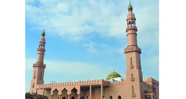 تواصل العمل في جامع النور بودام الساحل بالمصنعة