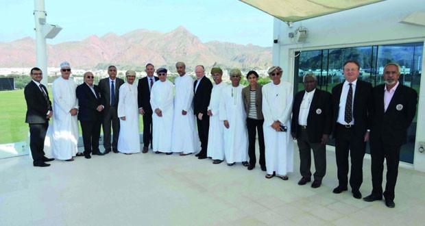 النادي العماني للكريكت يعقد لقاء مشتركًا مع المجلس الدولي للكريكت