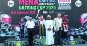 المنتخب الوطني يفوز بلقب بطولة الشرق الأوسط وشمال أفريقيا للكارتينج