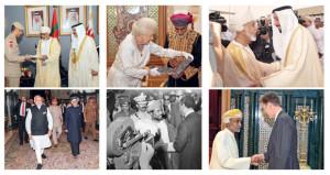 بنهج السلام الذي وضعه السلطان الراحل وقدّره العالم