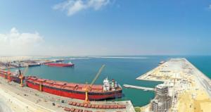 ميناء الدقم يستقبل أضخم مضخات الغاز .. الخميس