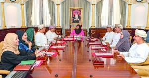 مجلس جامعة السلطان قابوس يعقد اجتماعه الثاني للعام الأكاديمي (2019 / 2020)