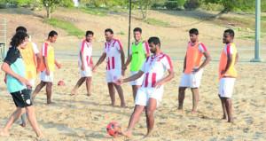 غدا منتخبنا الوطني لكرة القدم الشاطئية يختتم معسكره الداخلي استعدادا للمشاركة الآسيوية