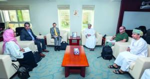 وفد من منظمة الصحة العالمية يزور المجلس العماني للاختصاصات الطبية