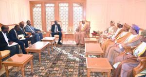 السلطنة تبحث زيادة التبادل التجاري مع الصومال