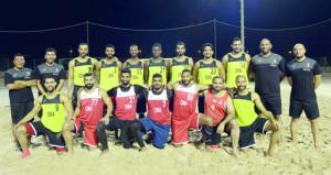 لجنة المنتخبات الوطنية تناقش برنامج إعداد منتخبنا الوطني لكرة اليد الشاطئية