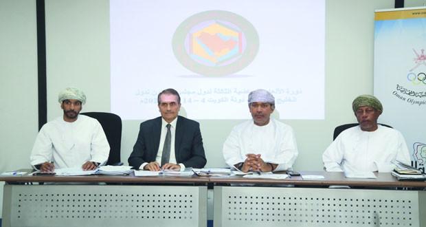 لجنة التخطيط والمتابعة باللجنة الأولمبية تناقش تحضيرات المشاركة في دورة الألعاب الرياضية بالكويت