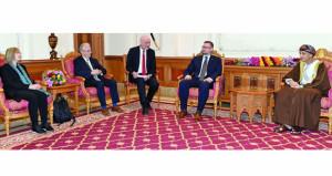 فهد بن محمود يستقبل وفدًا من البرلمان الألماني