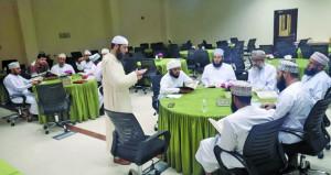 حلقة عمل حول طرق معالجة اللحن الخفي في الأداء القرآني بكلية العلوم الشرعية