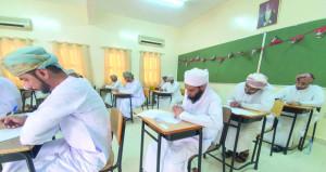 346 تربويا يتقدمون لامتحانات الوظائف الاشرافية والإدارة المدرسية بتعليمية مسقط