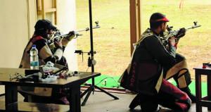الفريق الوطني للرماية يحصد ميداليتين ذهبيتين بالبطولة العربية الـ 15 الشاملة للرماية