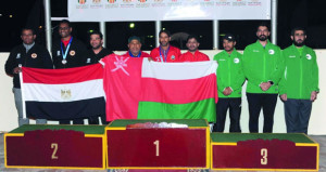الفريق الوطني للرماية يواصل حصد الميداليات المتنوعة في البطولة العربية بالقاهرة