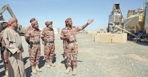 الاطلاع على مهام وواجبات منتسبي الجيش السلطاني العماني