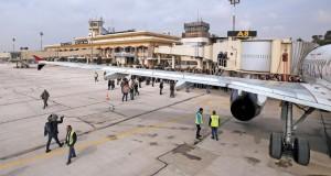 مطار حلب يستقبل أول رحلة بعد توقف دام 8 سنوات