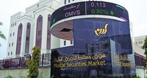 سوق مسقط يسجل انخفاضا 0.17%