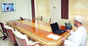 السلطنة وعبر (الاتصال المرئي) تشارك في اجتماع المجلس التنفيذي لـ(مكتب التربية العربي)