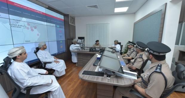 اجتماع لأعضاء قطاع الاستجابة الطبية والصحة العامة