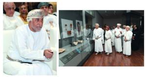 شهاب بن طارق يدشن قاعة التاريخ البحري بالمتحف الوطني
