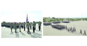 قوة السلطان الخاصة تحتفل بيومها السنوي وتخريج دفعة من الجنود المستجدين