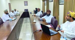 الشؤون البلدية بالعامرات تناقش عددا من المواضيع بالولاية