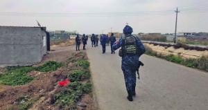 العراق: جريحان بسقوط قذائف على معسكر التاجي