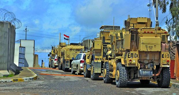 القوات الأميركية تسلم كافة مواقعها بالموصل للقوات العراقية