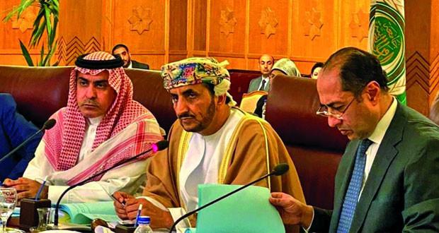 السلطنة تتسلم رئاسة مجلس جامعة الدول العربية