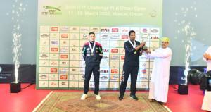 ختام بطولة عمان الدولية المفتوحة لكرة الطاولة