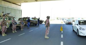 قوات السلطان المسلحة وشرطة عُمان السلطانية تنظّمان التنقل بيـن المحافظات
