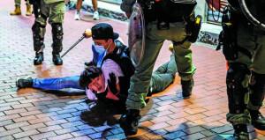 اعتقال العشرات في هونج كونج مع عودة الاحتجاجات المناهضة للحكومة