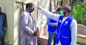 الخدمات الصحية بالظاهرة تنفذ حملة لفحص العمال الوافدين وتثقيف المجتمع