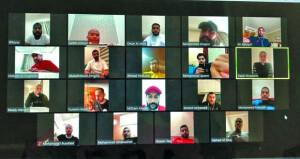 اتحاد اليد يختتم مشاركته في الندوات الافتراضية للاتحاد الآسيوي لكرة اليد