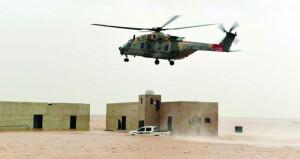 سلاح الجو السلطاني العماني : انقاذ واخلاء لمواطنين ومقيمين بمرمول