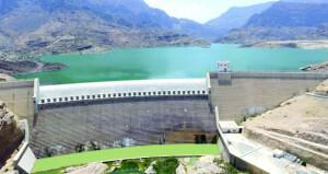 جراء الأمطار الأخيرة ارتفاع منسوب بحيرة سد وادي ضيقة بقريات إلى ٩٠ مليون متر مكعب