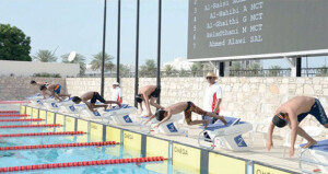 شارك فيها 36 مشاركا .. اتحاد السباحة ينظم دورة تأهيل مدربي ومدربات السباحة بالاتصال المرئي