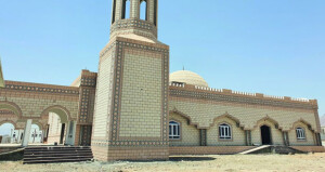 تواصل العمل بمسجد الصحابة بمرتفعات بتكلفة نصف مليون ريال عماني
