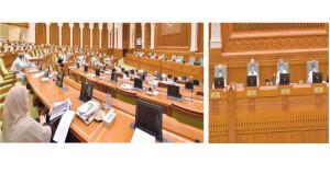 مجلس الشورى يقر تقريري «تسـريح القوى العاملة الوطنية في القطاع الخاص» و«تصنيف المؤسسات الصحية والخاصة وتنظيم أسعار خدماتها»